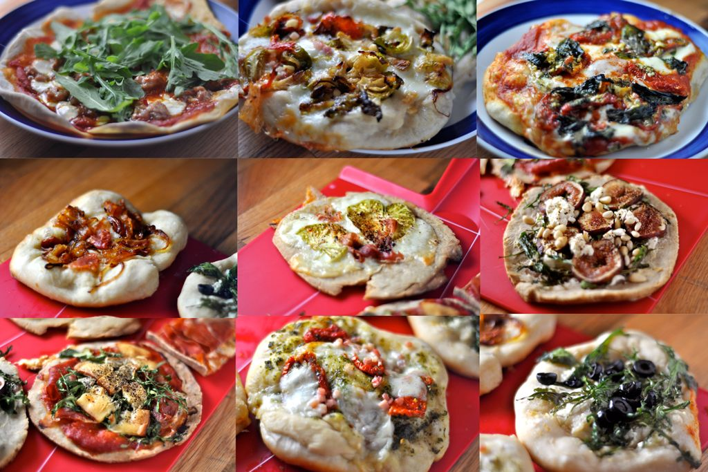 Make your own pizza bar   food   Pinterest   Pizzas, Food bars and ...