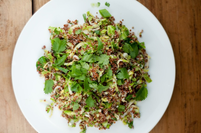 brussels sprout quinoa salad (1 of 2)